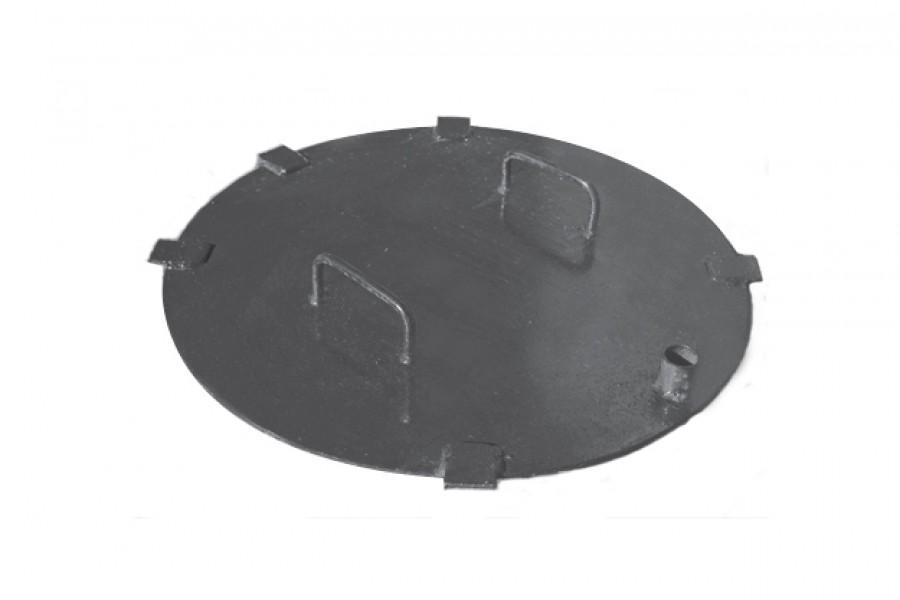 Крышка ТС. Предохранительный элемент, устанавливается в люки тепловых камер. Оснащен запирающим механизмом.