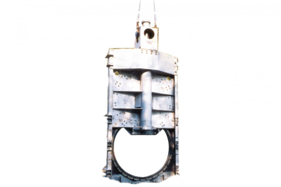 Щитовой затвор из нержавеющей стали для сточных вод  ЗН-10